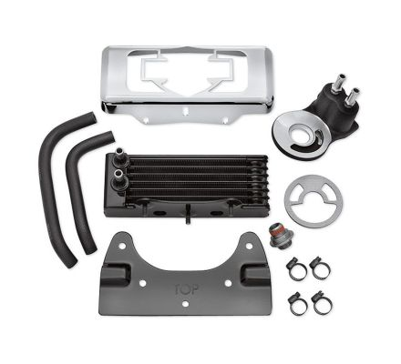 Harley-Davidson® Premium Oil Cooler Kit for Touring Models 26082-05C