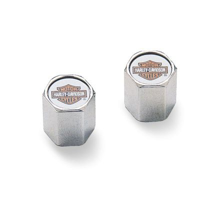 Harley-Davidson® Color Bar & Shield ABS Valve Stem Caps 41144-97