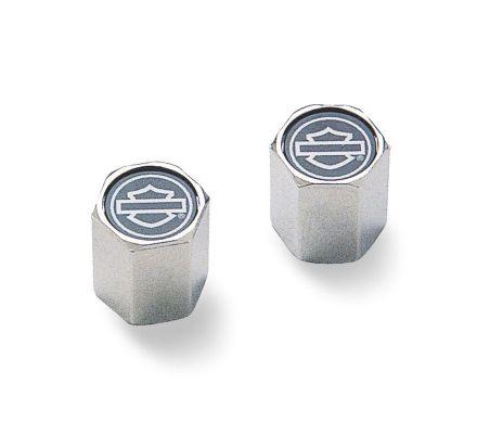 Harley-Davidson® Outlined Bar & Shield ABS Valve Stem Caps 41145-97