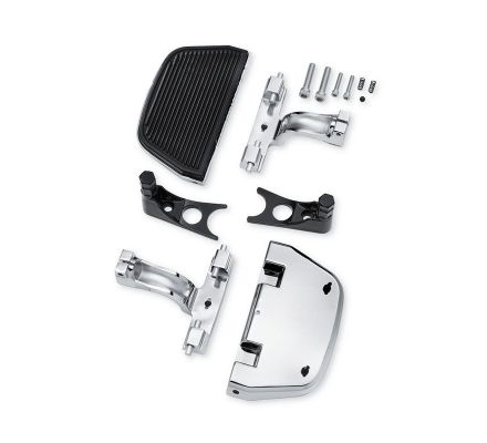 Harley-Davidson® Chrome Softail Passenger Footboard and Mount Kit 52715-04A