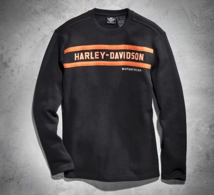 Harley-Davidson® Men's Classic Stripe Long-Sleeve Tee 99090-13VM