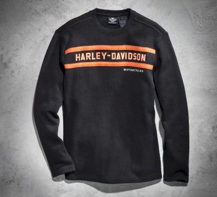 Men's Classic Stripe Long-Sleeve Tee, Harley-Davidson® 99090-13VM