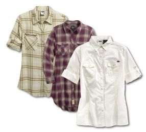 Roll-Tab Shirts