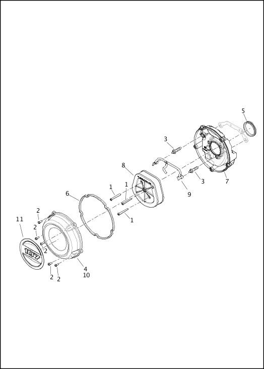 AIR CLEANER - FLFB, FLSB, FXBB, FXFB|2020 Softail® Models Parts Catalog