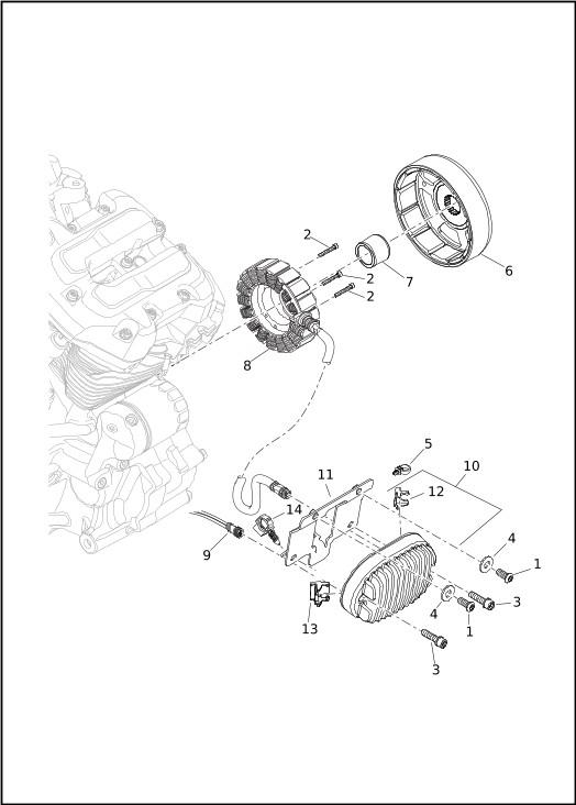 ALTERNATOR AND REGULATOR|2020 Softail® Models Parts Catalog