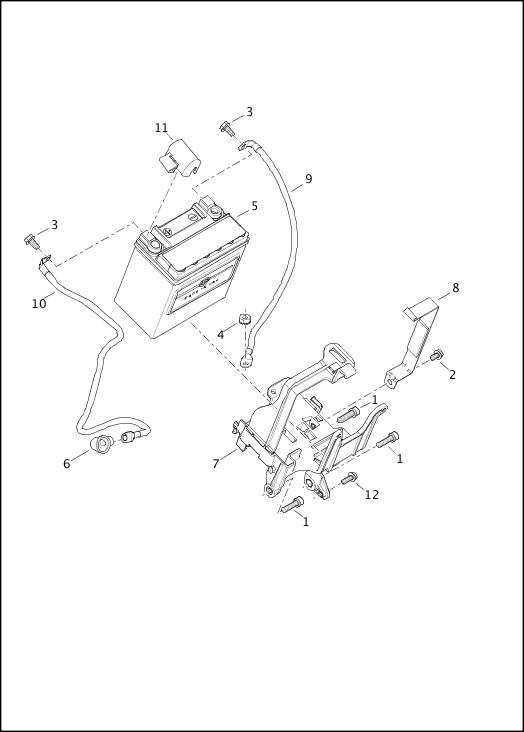 BATTERY|2014 Sportster Models Parts Catalog