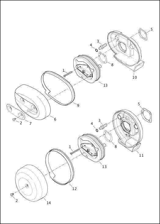 AIR CLEANER|2014 Sportster Models Parts Catalog