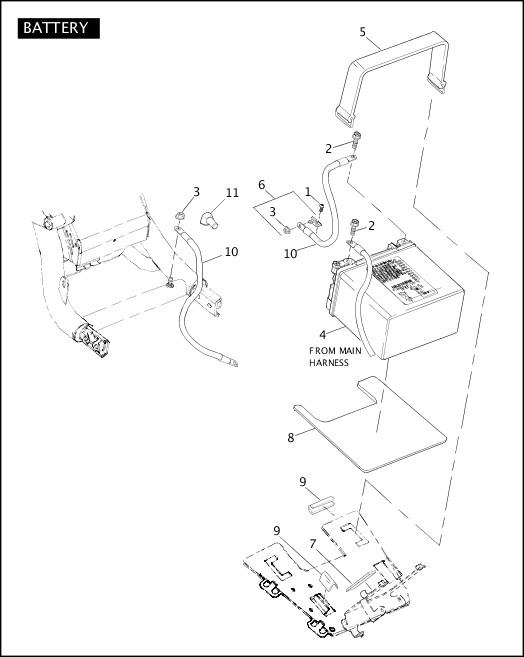BATTERY|2006 VRXSE Parts Catalog