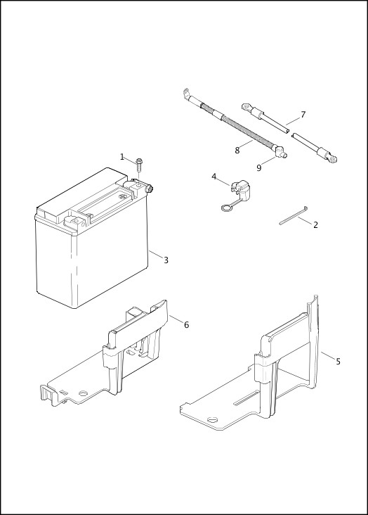 BATTERY|2013 Softail Models Parts Catalog