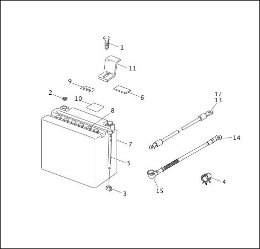 BATTERY|1995-1996 FLT Models Parts Catalog