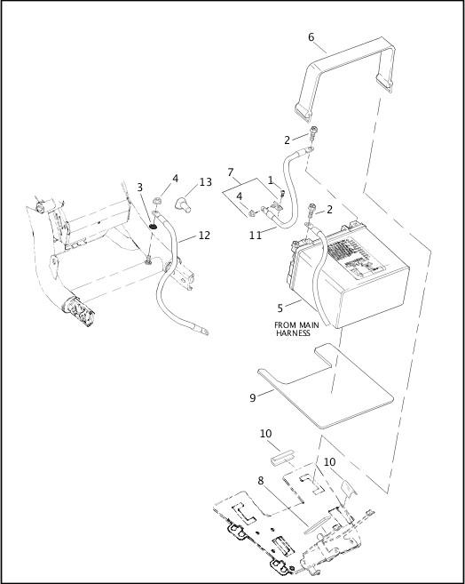 BATTERY|2002 VRSCA Model Parts Catalog