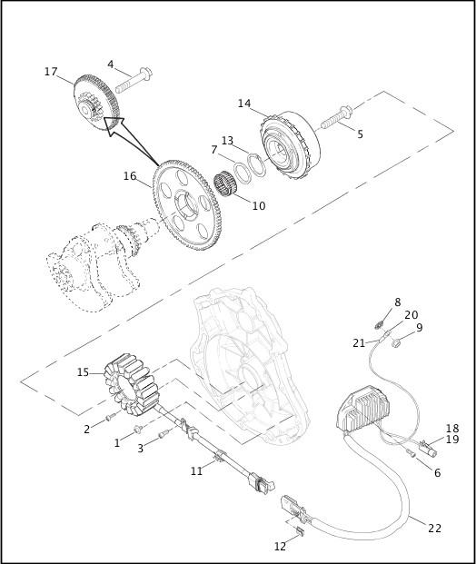 ALTERNATOR & REGULATOR|2002 VRSCA Model Parts Catalog