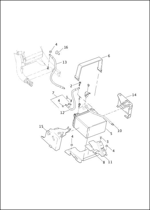 BATTERY|2014 V-Rod Models Parts Catalog