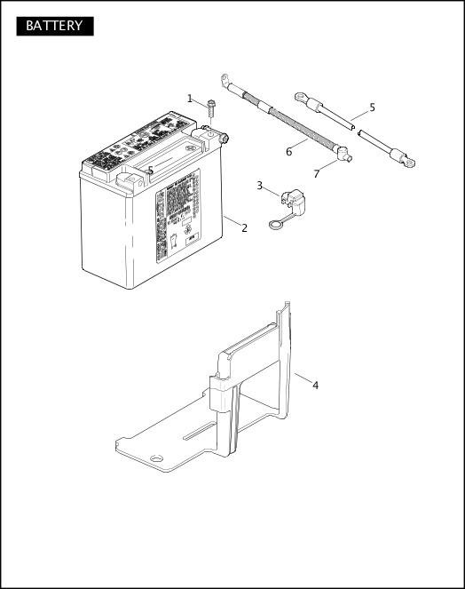 BATTERY|2010 FLSTSE Parts Catalog