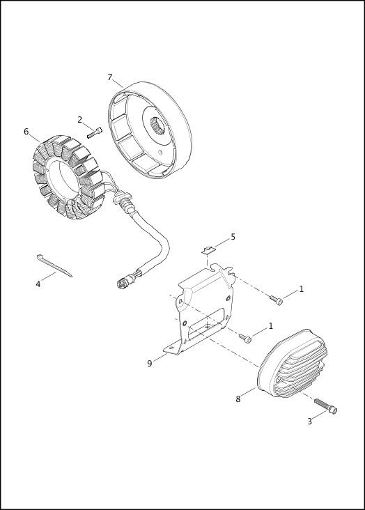 ALTERNATOR & REGULATOR|2013 FXSBSE Parts Catalog