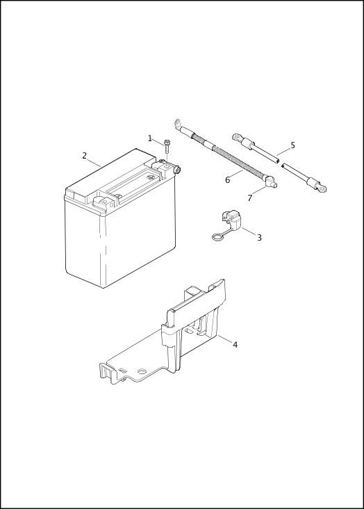 BATTERY 2013 FXSBSE Parts Catalog