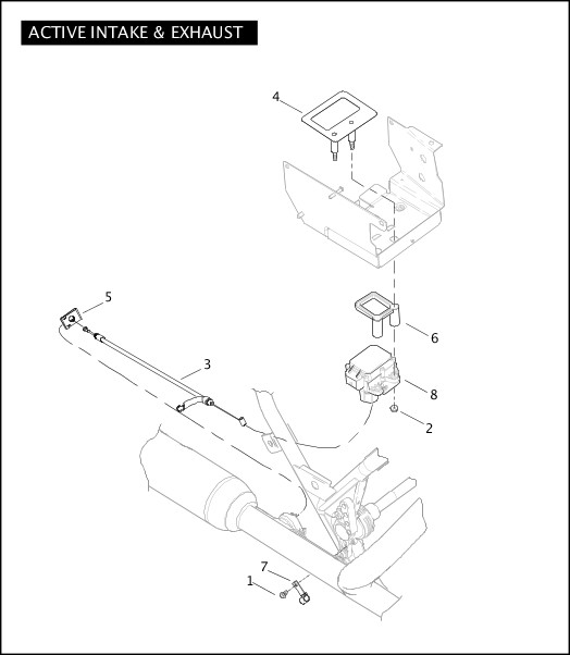 ACTIVE INTAKE & EXHAUST|2007 Police Models Parts Catalog