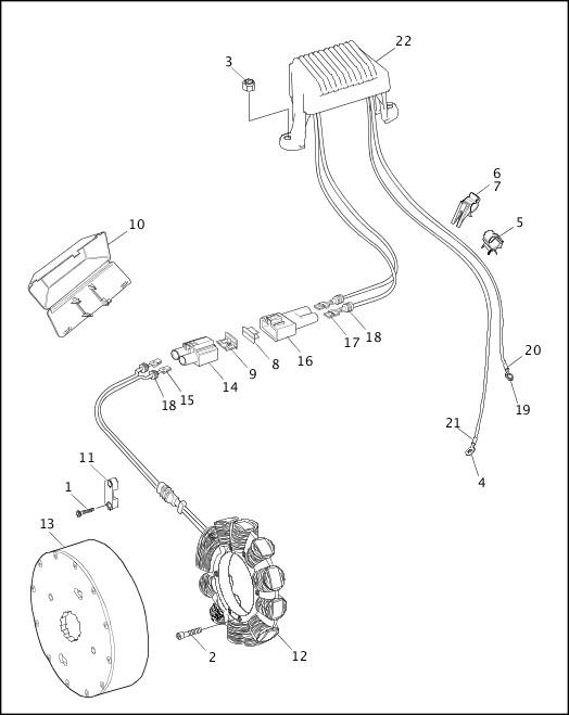 ALTERNATOR & REGULATOR|1998 FLT Police Parts Catalog Supplement