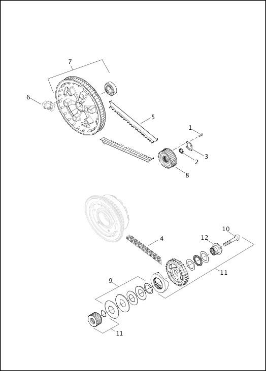 BELT, CHAINS & SPROCKETS|2015 Trike Model Parts Catalog