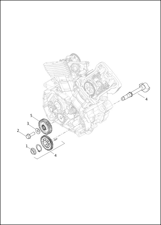 BALANCE SHAFT SUBASSEMBLY 2015 Street Models Parts Catalog