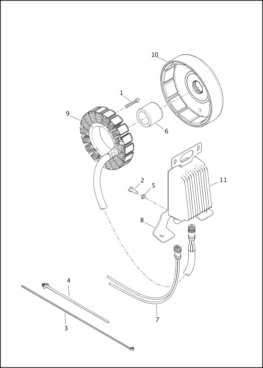 ALTERNATOR & REGULATOR|2015 FLTRUSE Parts Catalog