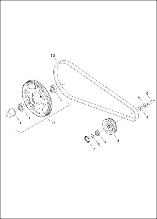 BELT & SPROCKET|2015 Street Models Parts Catalog