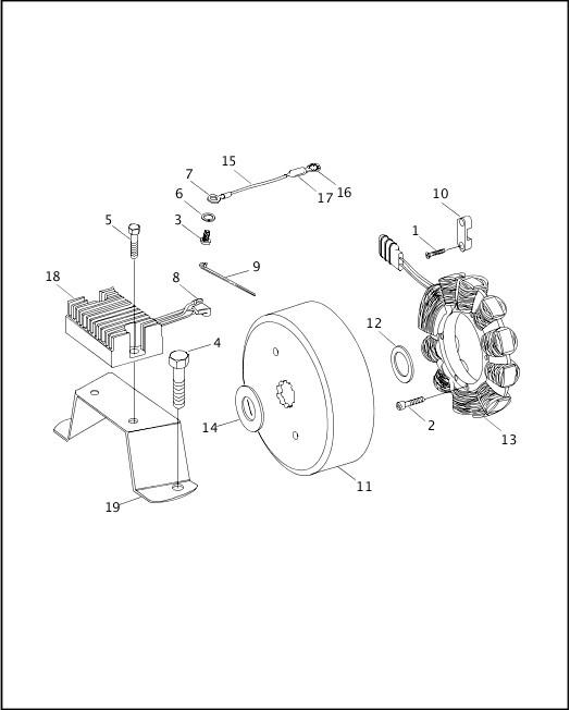 ALTERNATOR & REGULATOR|1999 FXR3 Parts Catalog