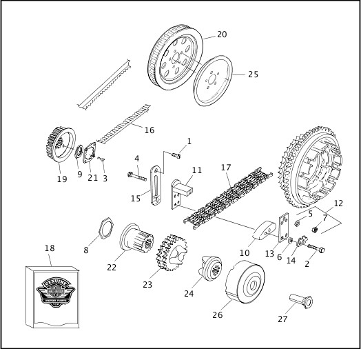 BELT, CHAIN & SPROCKETS|2000 FXR4 Parts Catalog
