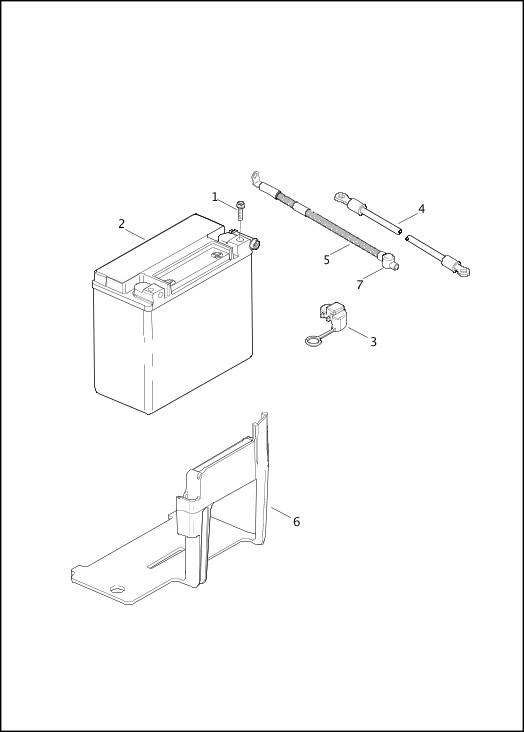 BATTERY|2014 FLSTNSE Parts Catalog