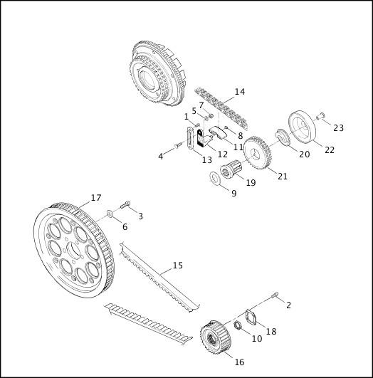 BELTS, CHAINS & SPROCKETS|2001 Dyna Models Parts Catalog