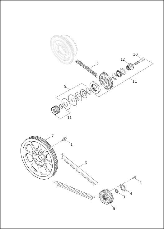 BELTS, CHAINS & SPROCKETS|2015 Dyna Models Parts Catalog