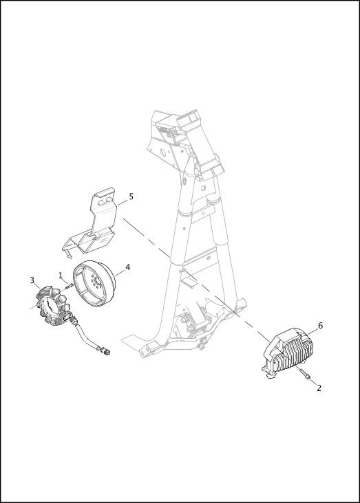 ALTERNATOR & REGULATOR|2014 Dyna Models Parts Catalog