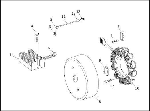 ALTERNATOR & REGULATOR|1998 Dyna Models Parts Catalog